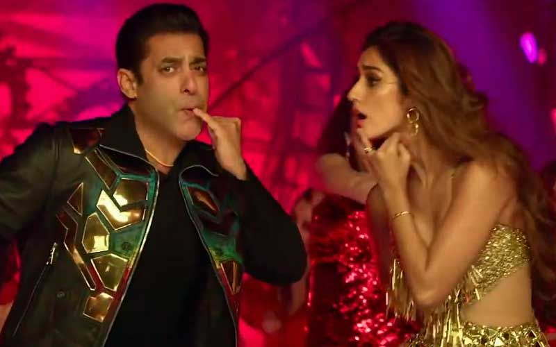 Salman Khan 'Seeti Maar' Song Out : 'सीटी मार' सांग में सलमान खान के साथ दिशापाटनी ने लगाई आग, हुक स्टेप करते वायरल हो रहे सलमान-Hindi News