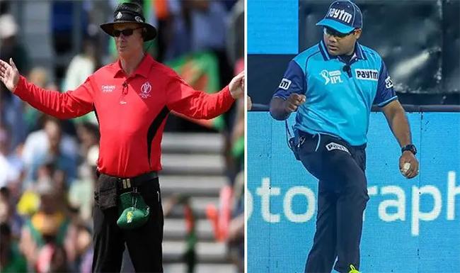 IPL 2021: खिलाड़ियों के बाद अबइन दो अंपायरों ने भी लिया आगे नहीं बने रहने का फैसला-Hindi News