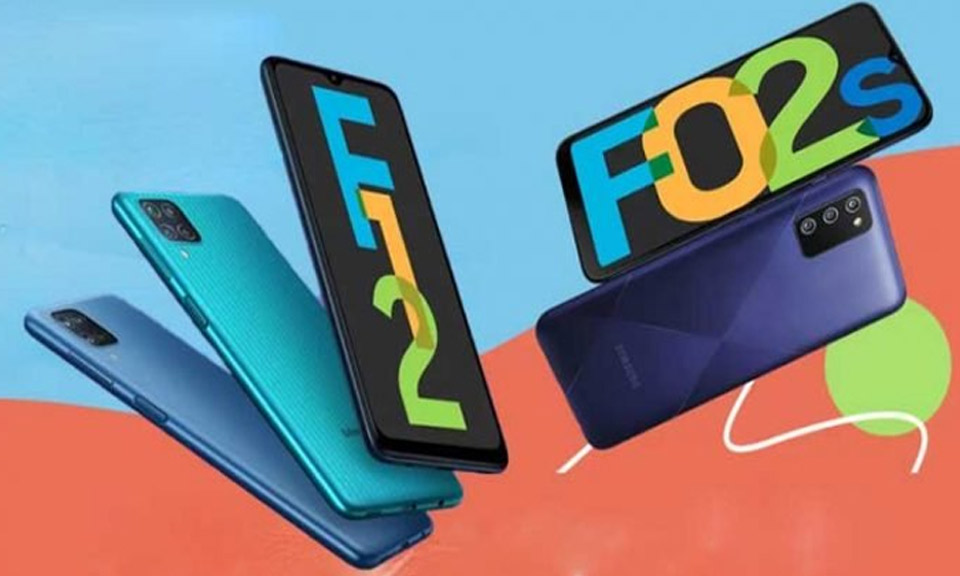 Samsung ने भारत में लॉन्च किया गैलेक्सी एफ 12 और एफ02, जानें क्या है फीचर्स और कीमत-Hindi News