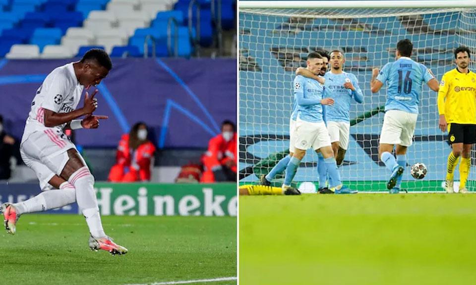 Champions League : रियल मेड्रिड ने चैंपियंस लीग के क्वार्टर फाइनल में लिवरपूल को हराकर 3-1 से जीत दर्ज की-Hindi News