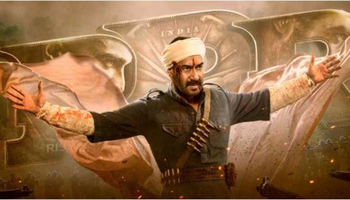 Film RRR First Look: जन्मदिन पर रिलीज हुआ RRR के लिए अजय देवगन का फर्स्ट लुक-Hindi News