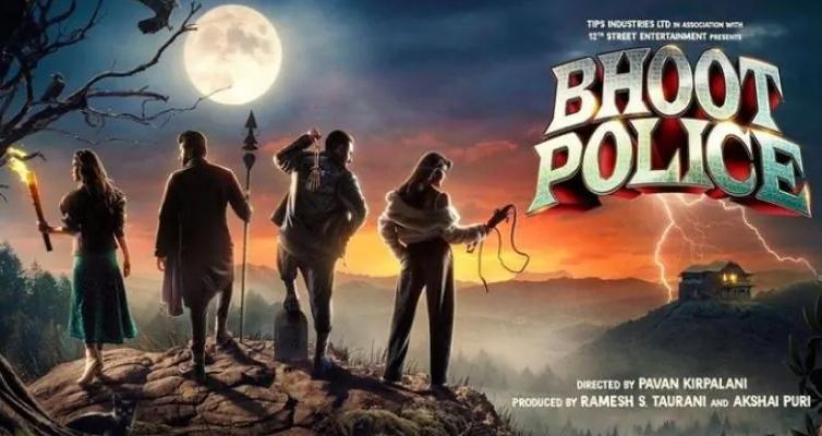 OTT प्लेटफॉर्म पर डराएगी 'भूत पुलिस Bhoot Police', काॅमेडी के साथ होगा डर भरा रोमांच-Hindi News