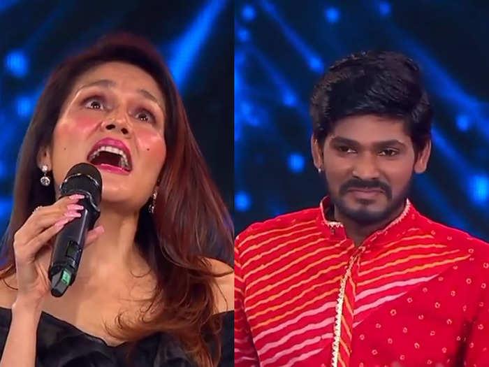 indiol idol : सोनू कक्कड़ ने गया 'मेरे ऱश्के कमर'..लोगों को याद आई रानु मंडल-Hindi News
