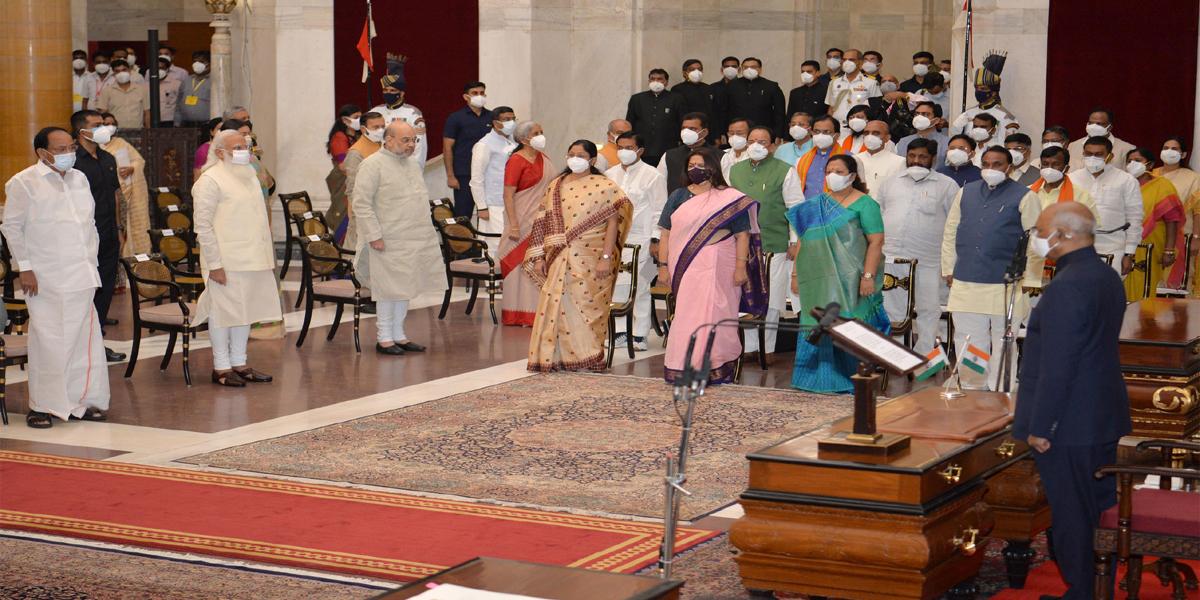 Union Cabinet Expansion 2021: मोदी ने बनाया चुनावी केबिनेट, यूपी से सात नए मंत्री-Hindi News