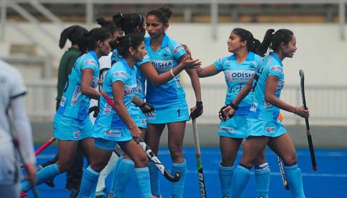 Women Hockey Team ने अफ्रीका को 4-3 से हराया, 3 गोल दाग वंदना कटारिया ने रचा इतिहास-Hindi News